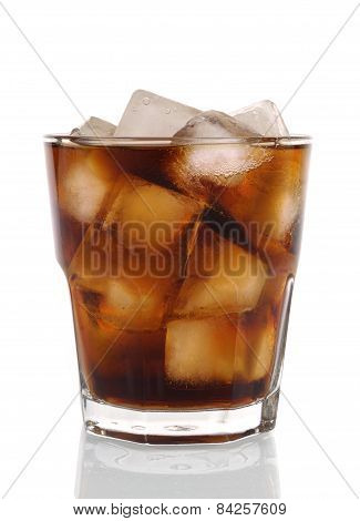 Glass Of Cold Fizzy Cola