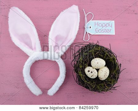 Happy Easter Bunny Ears