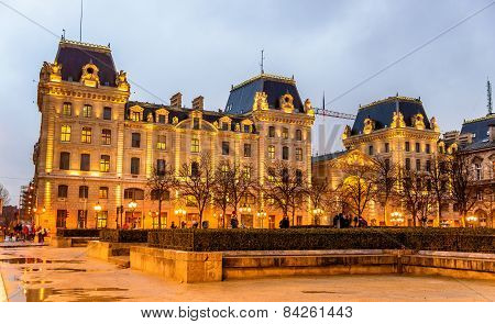 The Palace Of The Prefecture Of Police Of Paris - France
