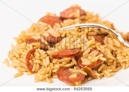 Dirty Rice And Sausage