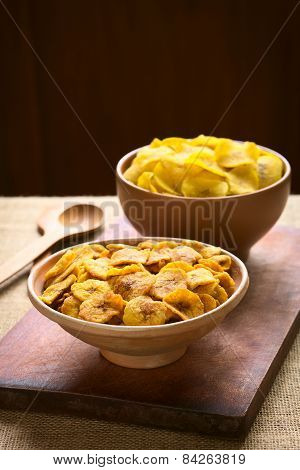 Sweet and Salty Plantain Chips