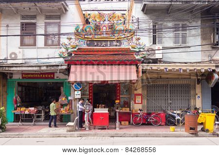 Temple In Street