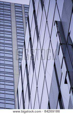 Rising Glass Buildings