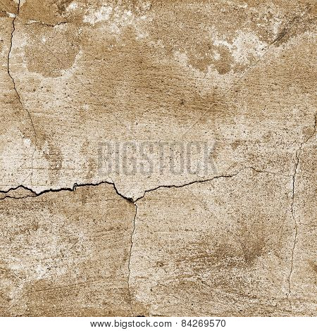 Abstract Textured Cracked Old Vintage Background. For Creative Unusual Vintage Design