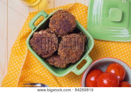 Cutlets In Bowl