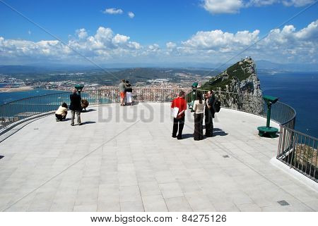 Viewing platform, Gibraltar.