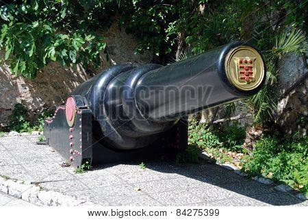 30 Tonne gun, Gibraltar.