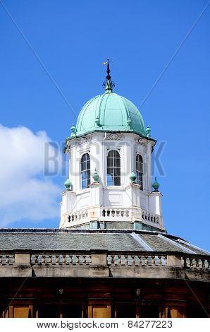 Sheldonian theatre dome, Oxford.