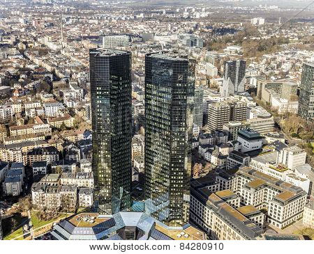 Deutsche Bank, Greentowers In Frankfurt
