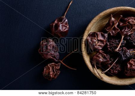 Dried Pears In A Bowl