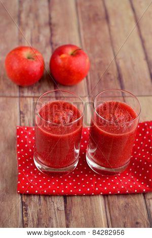Beetroot apple papaya juice