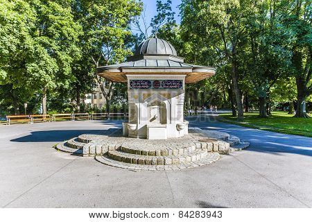 Famous Yunus Emre Fountain In Vienna