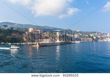 Cityscape Of Sorrento