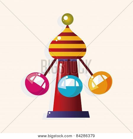 Playground Facilities Theme Elements Vector,eps