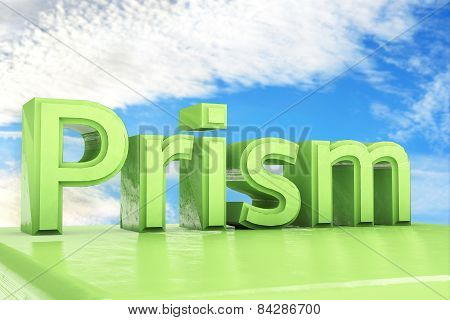 Prism - 3D Rendered Illustration