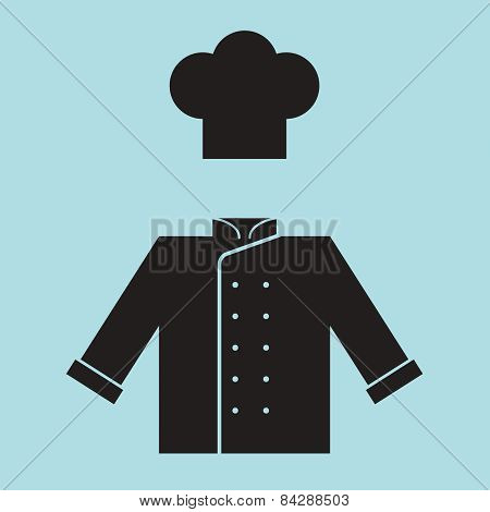 Chef Hat And Shirt.
