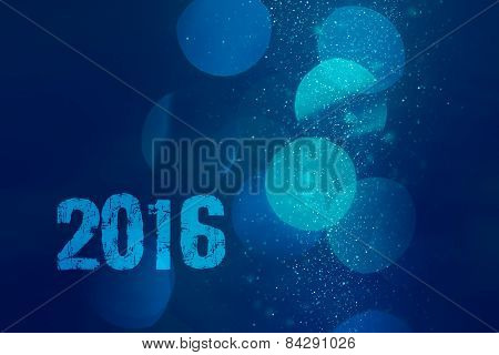 Abstract Background With Bokeh To New 2016