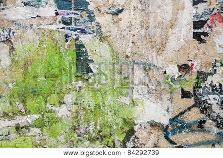 Grunge weathered wall