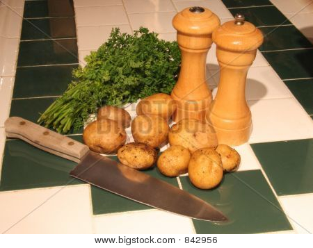 Potatoes and Parsley