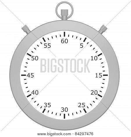 Blank stopwatch