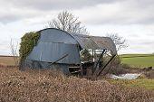 stock photo of collapse  - Ashburton Devon UK  - JPG