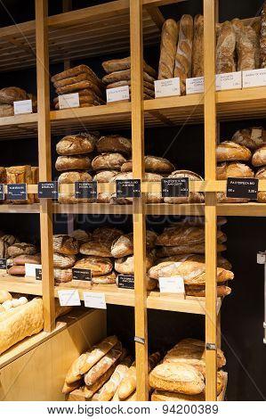 Bakery In Girona, Spain