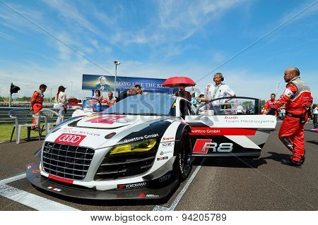 Grid Walk Buriram Super Gt Race 2015