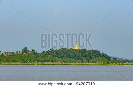 U Rit Taung Pagoda In Myanmar