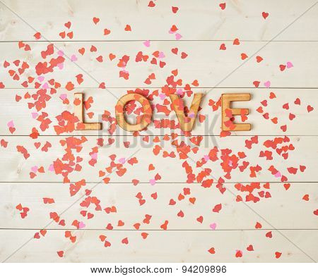 Word Love composition