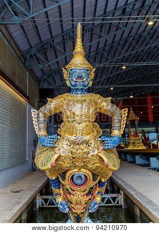 Thai Royal Barge Open Museum