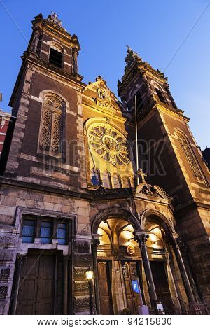 Basilica Of St. Nicholas In Amsterdam