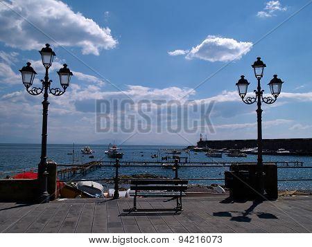 Famous Amalfi Coast Campania Italy