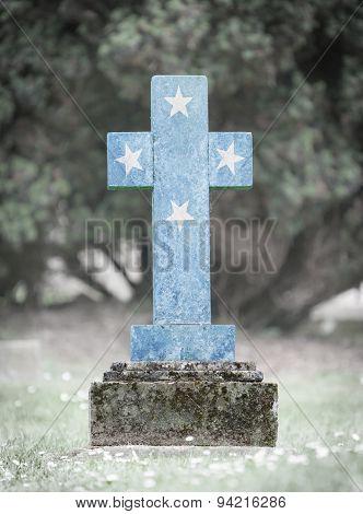 Gravestone In The Cemetery - Micronesia