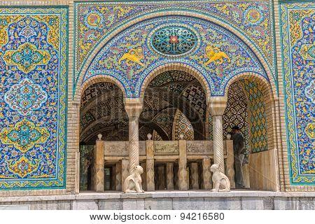 Golestan Palace Karim Khan of Zand