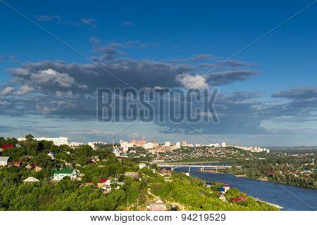 Ufa City Skyline