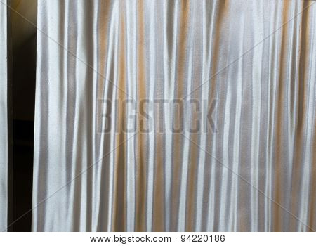 Silver Concrete Material Effect