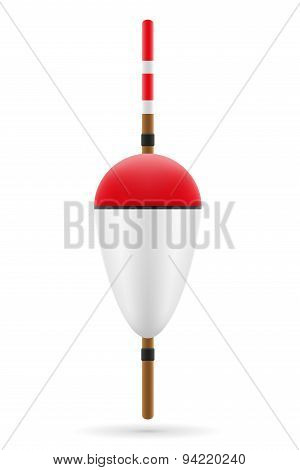 Bobber For Fishing Vector Illustration