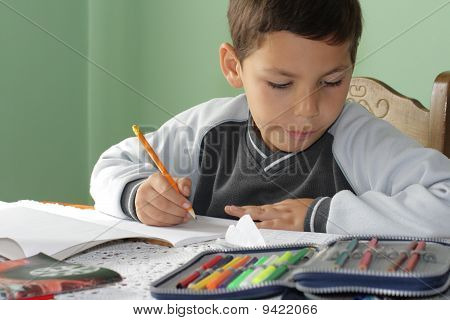 Student Notebooks And Pens
