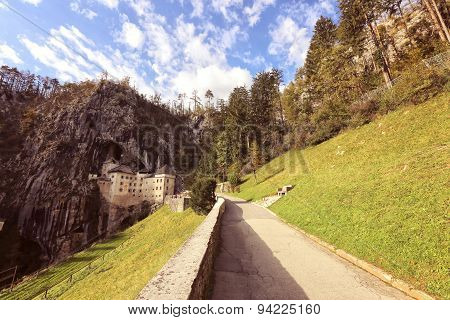 Pathway To A Castle