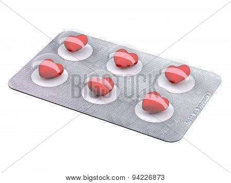 Heart Pills In Blister