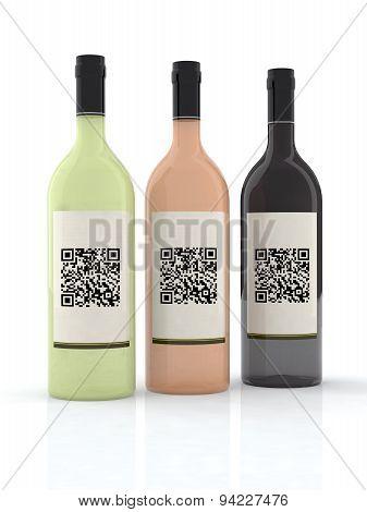 Three Bottle Of Wine