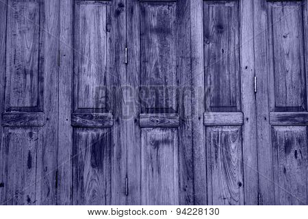 Vintage Wooden Door Old