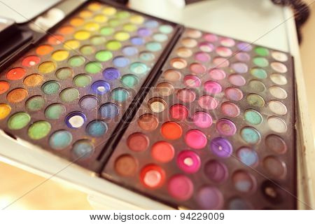 Colorful Palette For Make Up