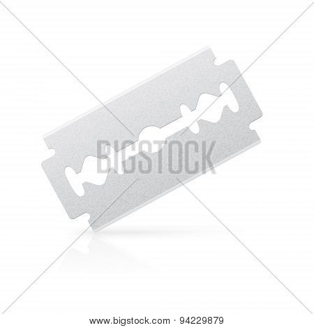Isolated Razor Blade