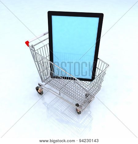 Concept Ecommerce Television
