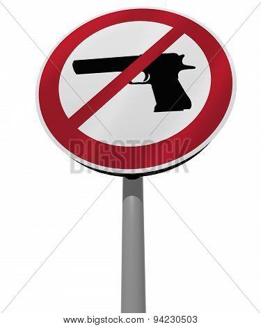 Sign Arms Ban