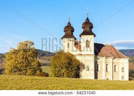 church of Saint Margaret, Sonov near Broumov, Czech Republic