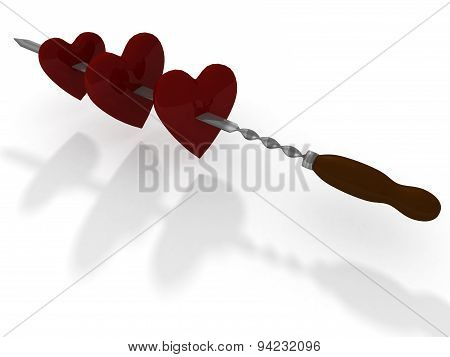 Hearts And Skewer