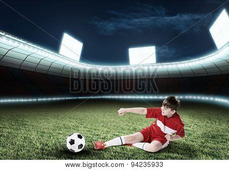 Young football champion
