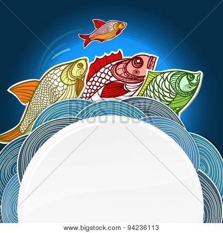 Fish. Raster version